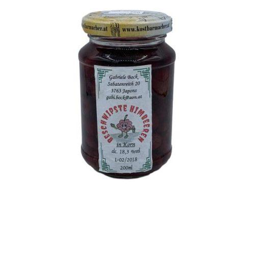 Bock - beschwipste Himbeeren Gl 200 ml