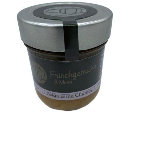 Frischgemüse & Mehr - Feige Birne Chutney 200g