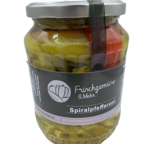 Frischgemüse & Mehr - Spiralpfefferoni 2+2Chili