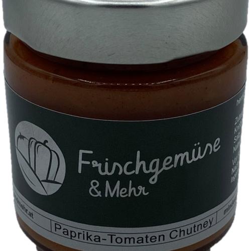 Frischgemüse und Mehr - hausgemachtes Paprika-Tomaten Chutney, 130g