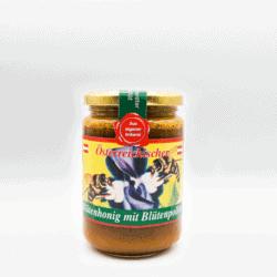 Honig mit Bluetenpollen
