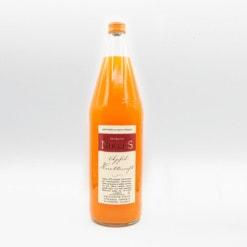 Apfelsaft mit Karotten