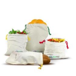 Gemuesebeutel mit Produkte
