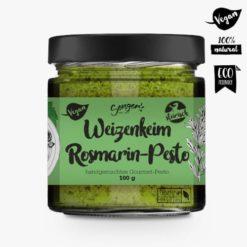 Weizenkeim Rosmarin Pesto